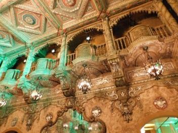 stunning panel work in The Coronado theatre