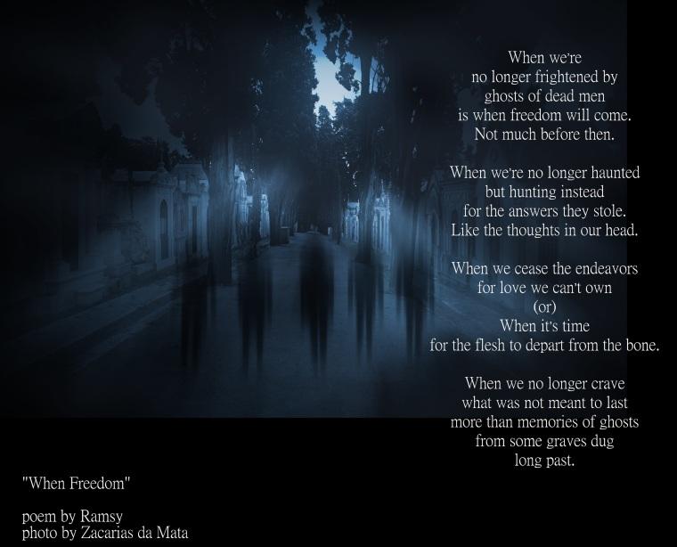 Full moon ghosts